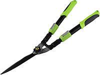 Ножницы садовые д/живой изгороди с телескопическими ручками 0209