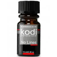 Средство для коррекции искусственных ногтей Kodi Professional No Lines 10 мл.