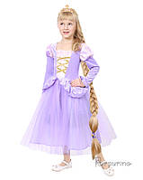 Дитячий карнавальний костюм Рапунцель Код 2132