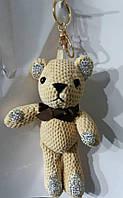 128 Брелки Hade made- медведи 25 см для сумок и ключей. Брелоки оптом