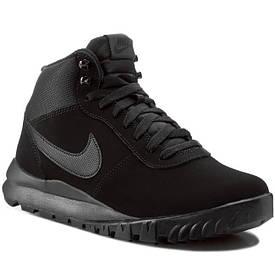 Кроссовки Nike Hoodland Suede черные оригинал