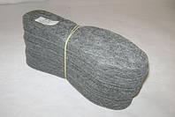 Стелька для обуви фетровая 3 мм, размер 37- 46 (упаковка 10 пар)