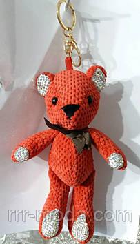 129 Брелоки Hade made- медведи 25 см для сумок и ключей. Брелоки оптом