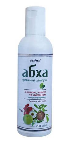 """Травяной шампунь c кондиционером """"Абха"""" с амлой, нимом и лимоном, Sahul, 200мл, фото 2"""