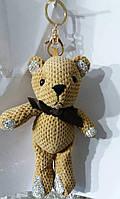 130 Аксессуары Hade made- брелки медведи 25 см для сумок и ключей. Брелоки оптом