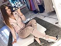 Женские брюки леггинсы утепленные плотный стрейтч-замш (3 цвета)