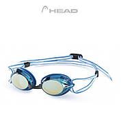 Head Venom (Blue) - стильные зеркальные очки для плавания, фото 1