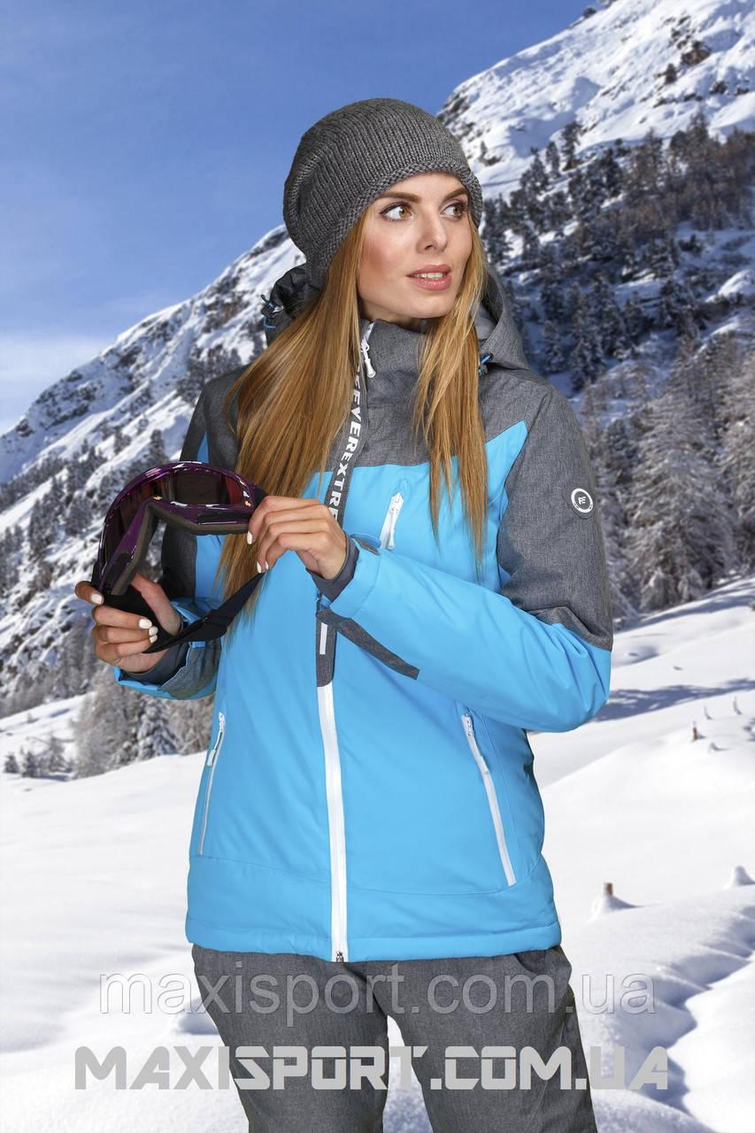 Куртка горнолыжная женская Freever 7253 Lake Blue