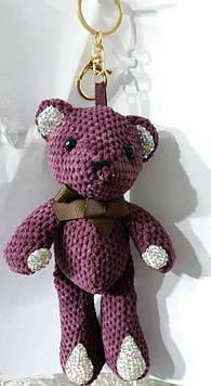 132 Брелоки оптом. Украшения Hade made- брелки медведи 25 см для сумок.