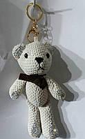 133 Брелки оптом. Hade made- брелки медведи 25 см для сумок.