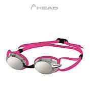 Head Venom Mirror (Pink/Smoke) - стильные зеркальные очки для плавания