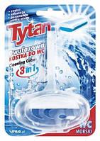 "TYTAN Двухфазный туалетный ароматизатор ""Морской"" - корзинка (40 г)"