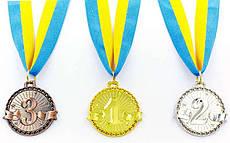 Медальна ленте спортивная металлическаяZip 4,5 см