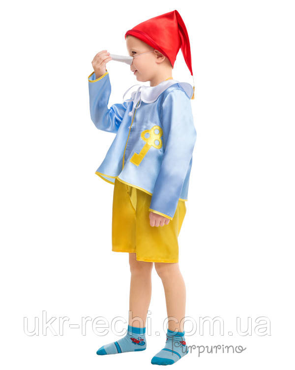 Дитячий карнавальний костюм Буратіно Код. 9329