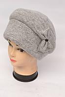 Женская шапка с бантом  (каменка)