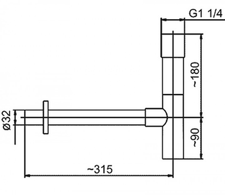 armatura Сифон для раковины Armatura 600-001-00
