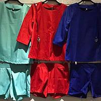 Костюм с шортами из коттона, фото 1