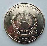 Западные Малые Зондские острова 1 доллар 2017 год, фото 2