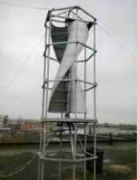 Ветрогенератор тихоходный вертикального типа 2 кВт.