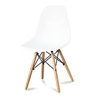 Кресло стул для кухни столовой Paris, белое