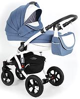 Детская коляска универсальная 2в1 Adamex Avila Pretty Collection 07PY (Адамекс Авила, Польша)