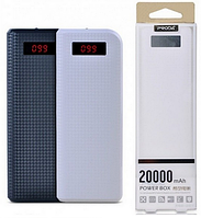 POWER BANK REMAX PRODA 6J / PPL-12 20000 mAh ORIGINAL черный