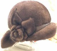 Норковая шапка Греция. Шапка из норки Vito Poletti. Мех Saga Mink