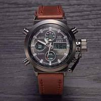 Мужские наручные часы AMST 3003 (коричневые)