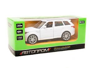 Машина металева Автопром Range Rover