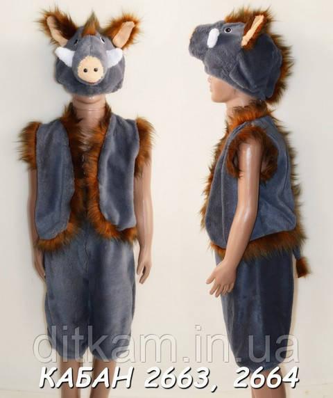 Детский карнавальный костюм Кабана