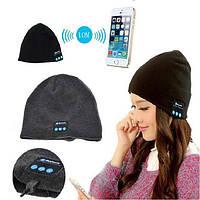Зимняя шапка со встроенной  Bluetooth -гартнитурой (MUSIC HAT)