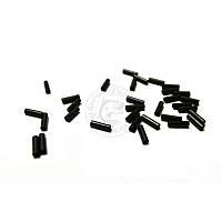 Обжимные трубки AFW Single Barrel Sleeves 1L BLACK,J01LB, 1000шт (код 163-133195)
