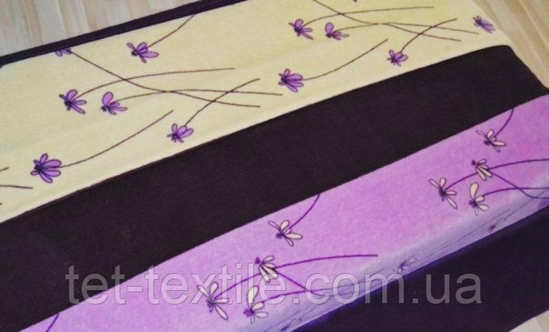 """Плед из микрофибры """"Фиолетовый"""" (200х220)"""