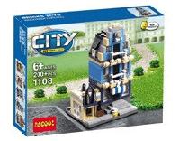 """Конструктор City """"Mini Street Viem"""" Синий"""