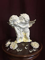 Ангел Пара целующиеся стоящие, пастель