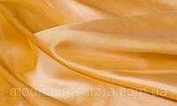 Тафта однотонная сливочно-желтый (портьера)