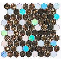 Мозаика Vivacer Декор Mix SB01 30.5x31.5/3.8x3.4, фото 1