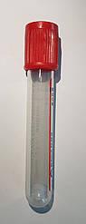 BD Vacutainer® пластиковые пробирки для исследования сыворотки с красной крышкой BD Hemogard™, 6мл, 13x100мм