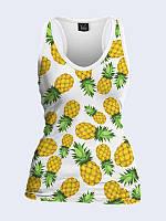 Майка-борцовка Аппетитные ананасы