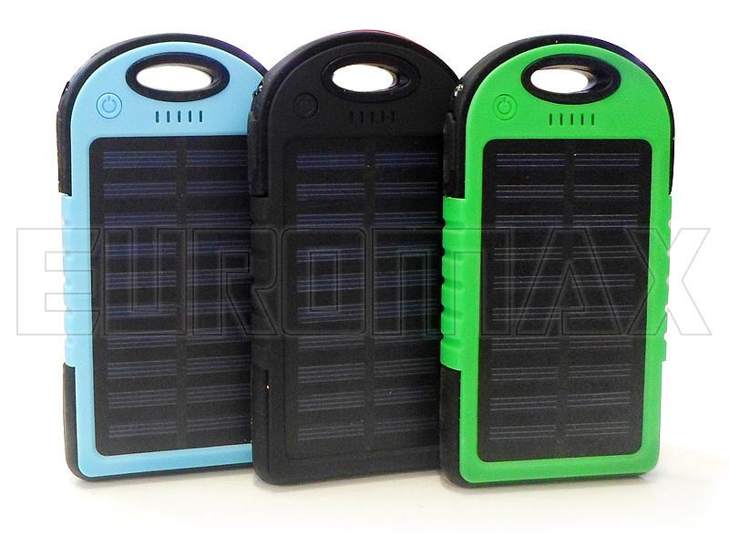 Внешний аккумулятор (power bank) Solar 10700мАч (3000мАч) PB-S10700