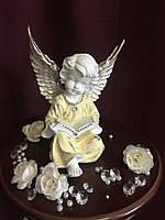Ангел с книгой, пастель