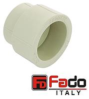 Муфта переходная PPR 75 х 63 мм полипропиленовая FADO Италия