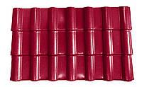 Композитная черепица RoofCom Пурпурно-красный (RAL 3005)