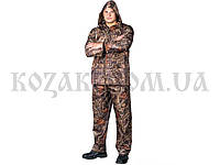Костюм-дождевик (куртка и брюки) камыш ПЭ 70%, ПВХ 30% все размеры