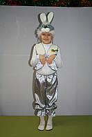 Детский новогодний костюм зайчик, заяц
