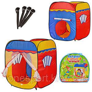 Палатка M 1402 домик, 87-88-108см, в сумке, 39-38-3,5см (код 220-233552)