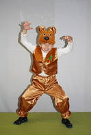 Детский новогодний костюм медведь