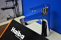 Смеситель для умывальника Haiba Houston Chr.-001