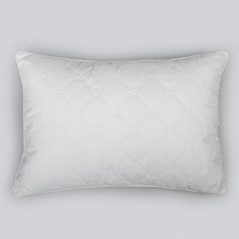 """Подушка Лебяжий пух """"Silver Snow"""" ст. микрофибра 50х70"""