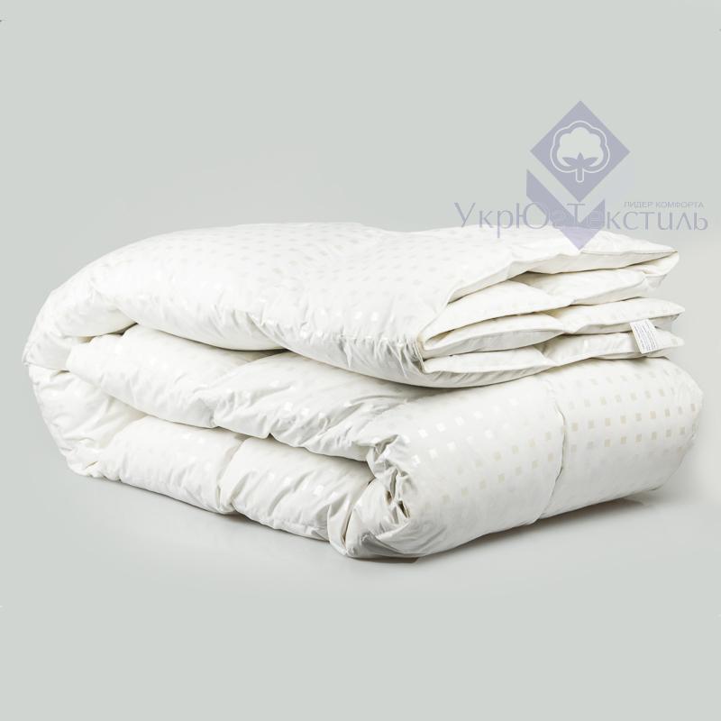 """Одеяло пуховое 50 % пуха """"SOLO"""" 1,5 евро (155х210)"""